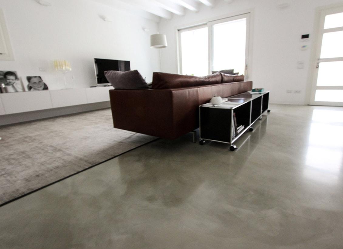 pavimenti in resina per abitazione